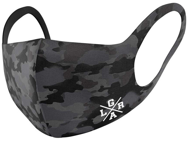 Loose Riders Face Mask, camo charcoal
